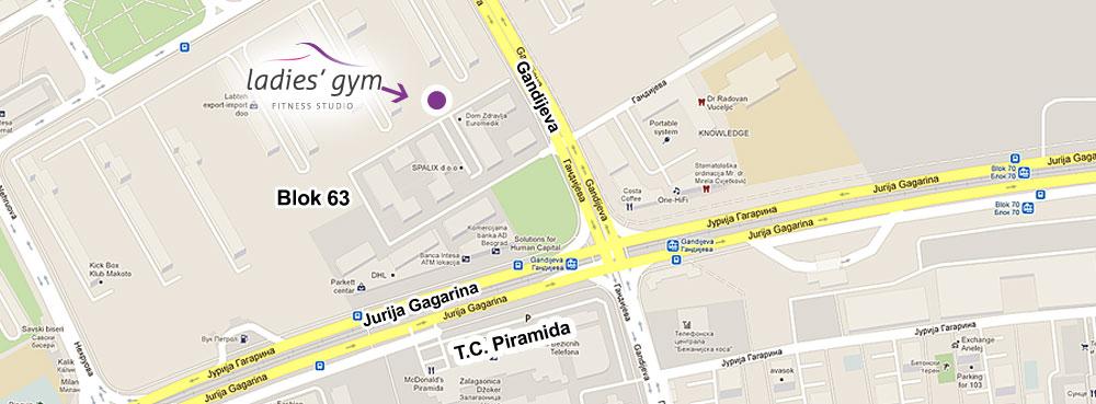 blok 63 novi beograd mapa Ladies' gym – Kontakt blok 63 novi beograd mapa